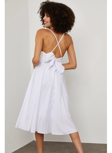 XHAN Elbise Beyaz
